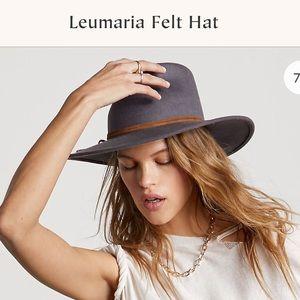 ISO Free People Leumaria Felt Hat